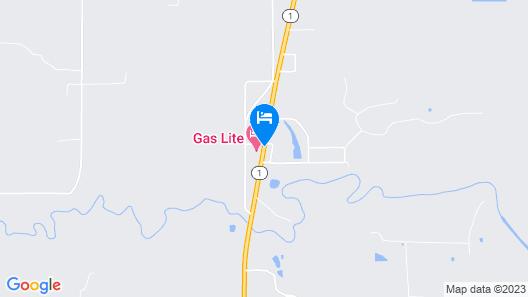 Gas Lite Motel Map
