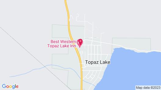 Best Western Topaz Lake Inn Map