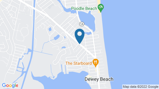 The Dunes Rehoboth Beach Map