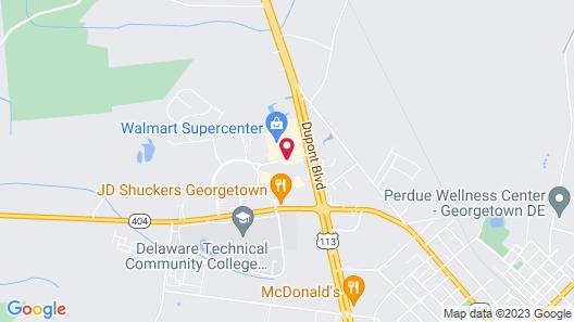 Tru by Hilton Georgetown Map