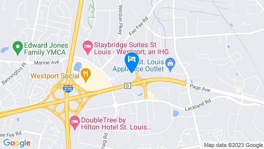 Fairfield Inn & Suites St Louis Westport Map