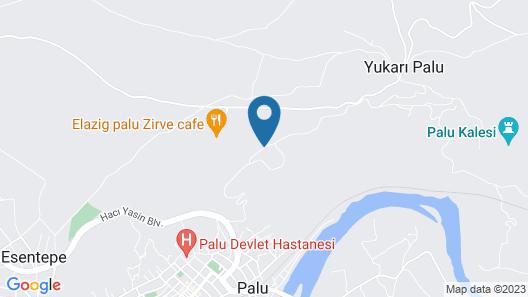 Palu Kale Otel Map
