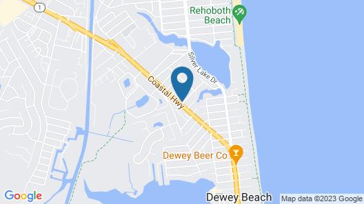 Quality Inn & Suites Rehoboth Beach - Dewey Map