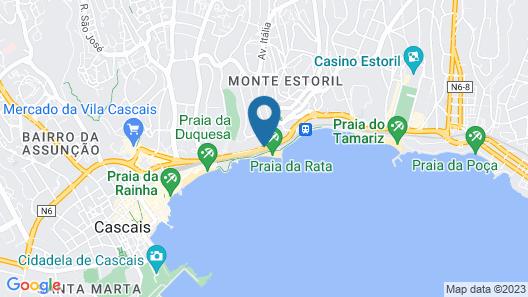 Hotel Cascais Miragem Map