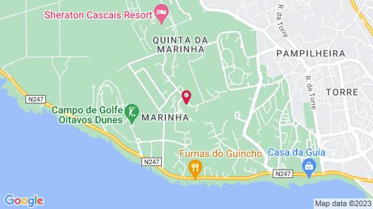 Martinhal Lisbon Cascais Family Hotel Map
