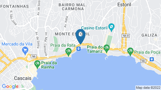 InterContinental Cascais-Estoril, an IHG Hotel Map