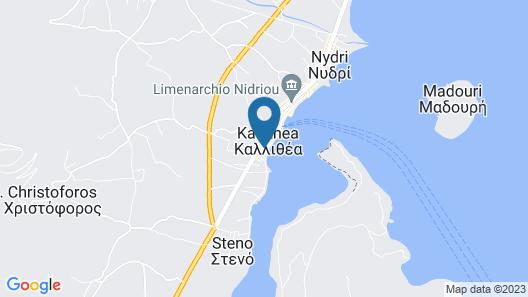 Nidri BAY Map