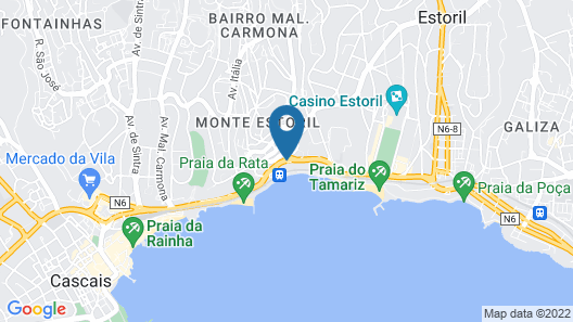 InterContinental Cascais-Estoril Map