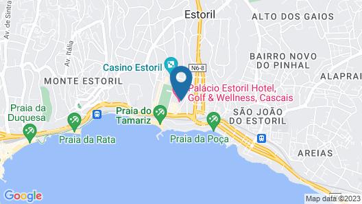 Palácio Estoril Hotel, Golf & Wellness Map