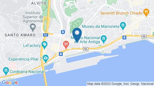 Garam Lisboa Map