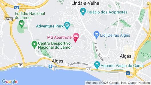 MS Aparthotel Map