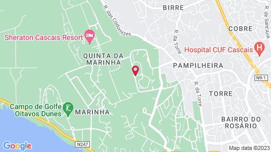 Vila Bicuda Resort Map