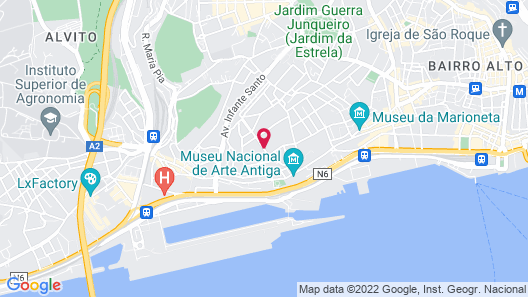 Olissippo Lapa Palace – The Leading Hotels of the World Map