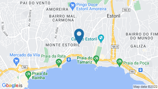 Hotel Londres Estoril \ Cascais Map