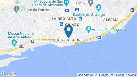 Lx Boutique Hotel Map