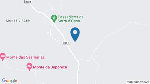 Herdade Água D'Alte Map