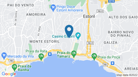 Amazonia Estoril Hotel Map
