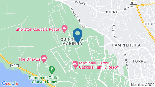 Onyria Quinta da Marinha Hotel Map