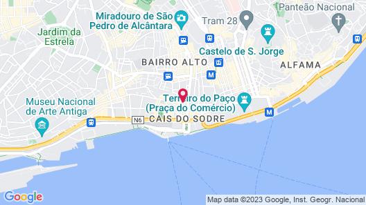 Residentas Apostolos Map