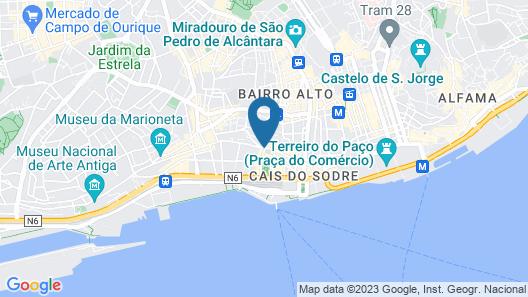 Ascensor da Bica - Lisbon Serviced Apartments Map