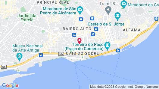Lisb'on Hostel Map