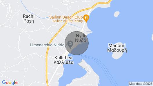 Anatoli Villas Lefkada Map