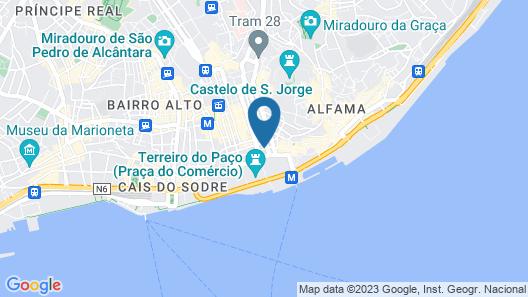 Vincci Baixa Map