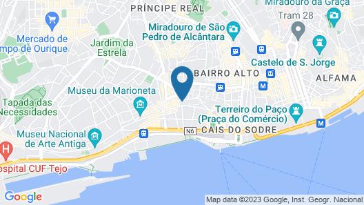 Casa do Bairro by Shiadu Map