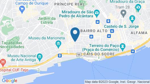 Selina Secret Garden Lisbon Map