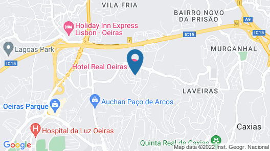 Hotel Real Oeiras Map