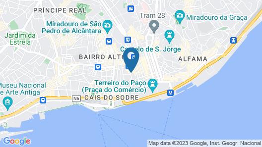 Dear Lisbon - Palace Chiado Suites Map