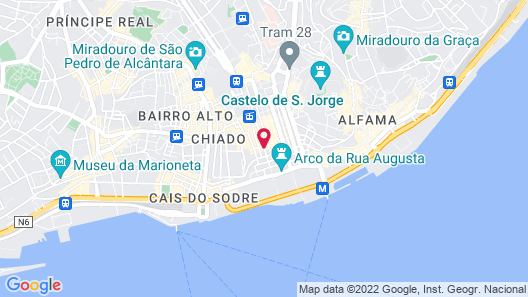 My Story Hotel Ouro Map