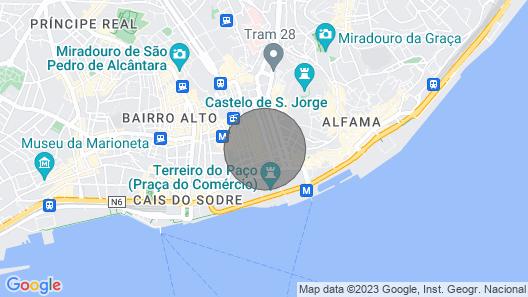 Guestready - Mod-luxe 2BR apt Near Cais das Colunas Map