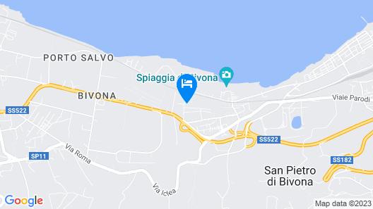Hotel Resort Lido degli Aranci Map