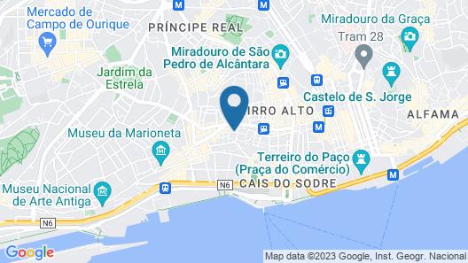 Santa Catarina Apartments by linc Map