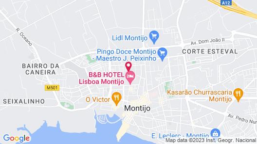 TRYP Lisboa Montijo Parque Hotel Map