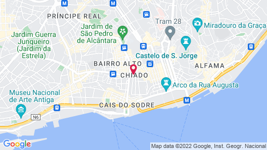Teatro Boutique Bed & Breakfast Map