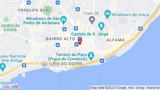 Hotel do Chiado Map