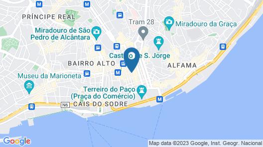 Esqina Urban Lodge Map