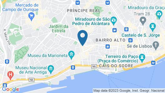 Dear Lisbon - Gallery House Map