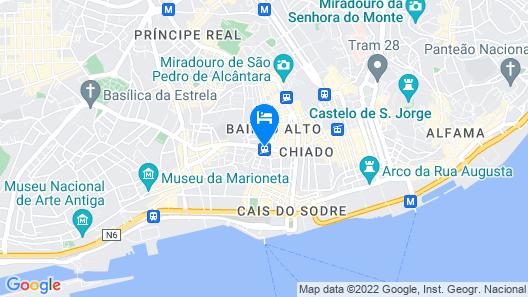 Palácio Camões - Lisbon Serviced Apartments Map