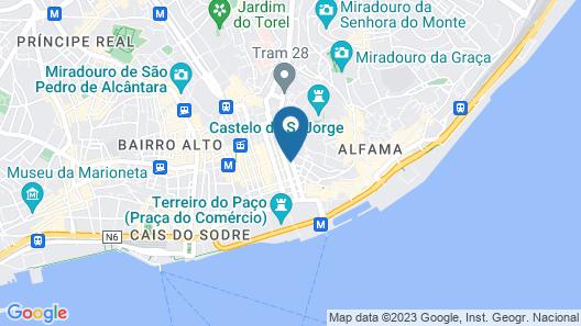 Casual Belle Epoque Lisboa Map