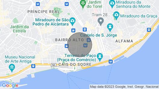 Trindade Apartament Deluxe Map