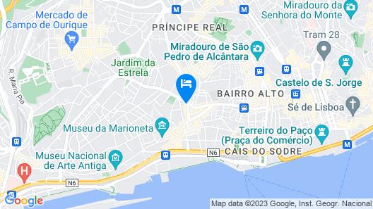 Lisbon São Bento Hotel Map