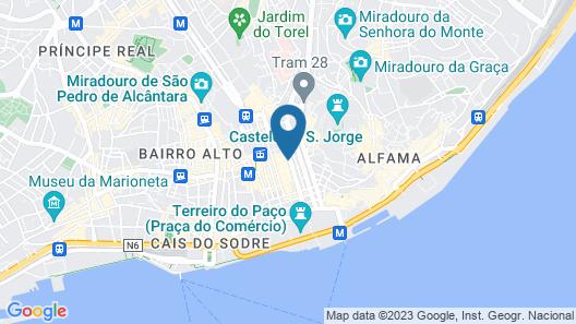 Altis Prata Hotel Map