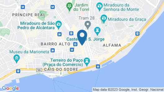 behotelisboa Map