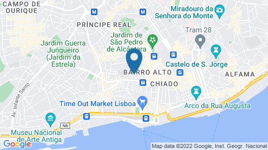Sweet Inn Apartements - Bairro do Amor Map