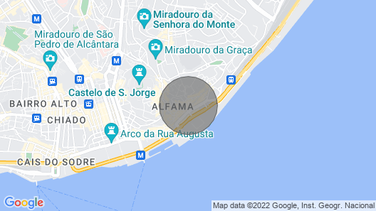 Estevao I - Apartment 4 People in the Heart of Alfama! Map
