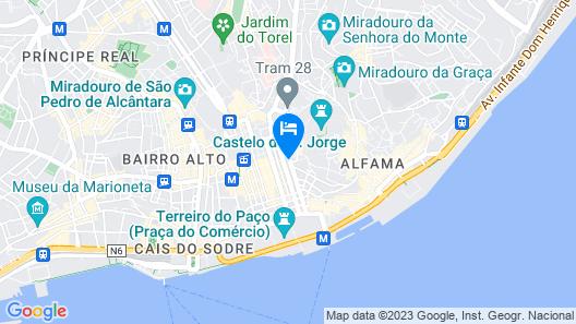 Esqina Cosmopolitan Lodge Map