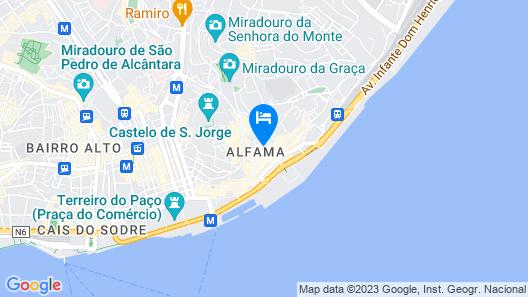 NEW! Portuguese Soul exquisite apartment Alfama 2p Map